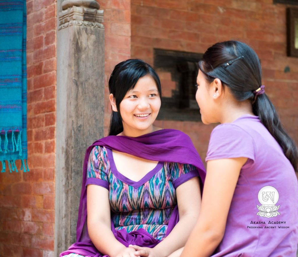 Young Nepali women - Akasha Academy - Basic Health Counsellor Training